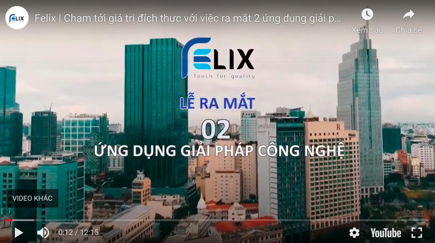 Quang cảnh buổi lễ ra mắt App Felix – New World Hotel