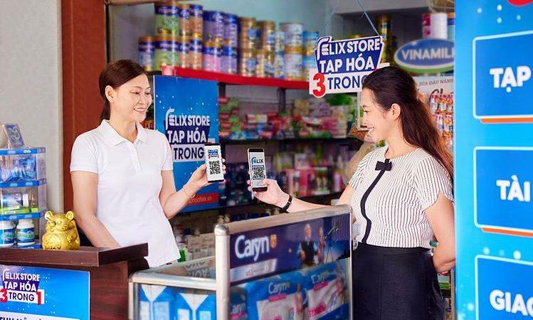 Mô hình Tạp hoá công nghệ Felix Store 3 trong 1 ra mắt